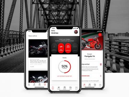 MyDucati, la nouvelle application mobile de la marque italienne