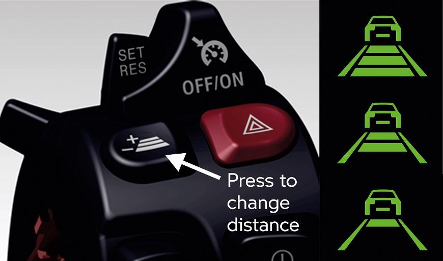 bmw accroit votre sécurité avec le regulateur de vitesse actif moto