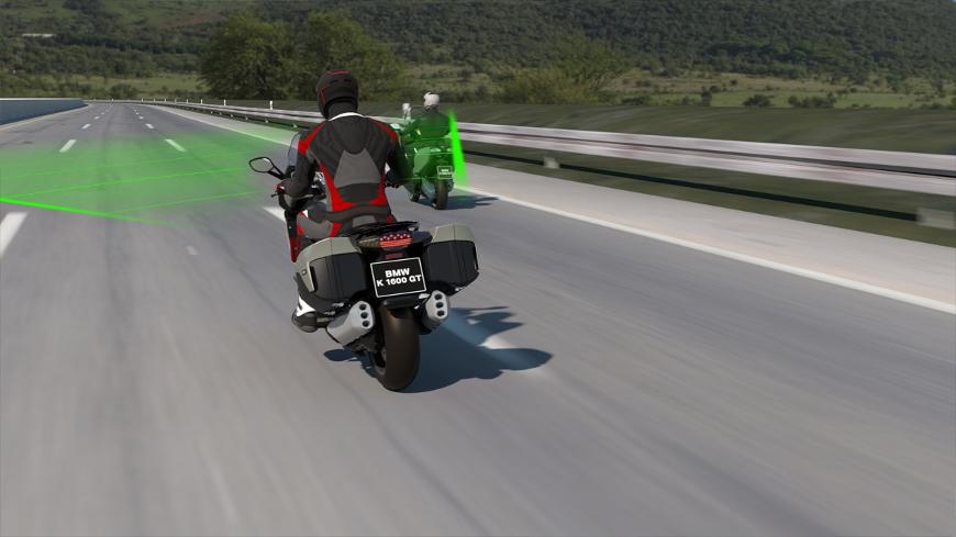 bmw moto et son acc regulateur de vitesse