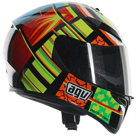 Casque AGV K-3 SV Rossi Elements - Noir