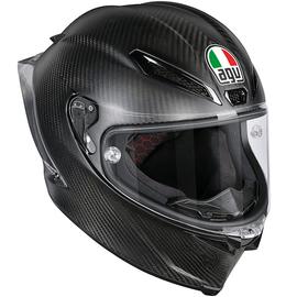 Casque intégral AGV Pista GP-R - Noir Mat Carbone