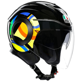 Casque AGV Orbyt Sun and Moon 46 Noir