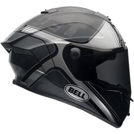 Casque intégral Bell Pro Star - Tracer Noir / Argent