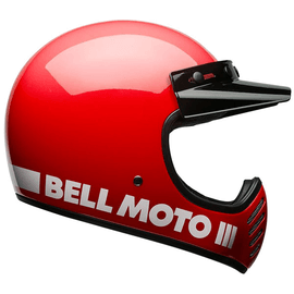 Bell Moto 3 - Classic Rouge