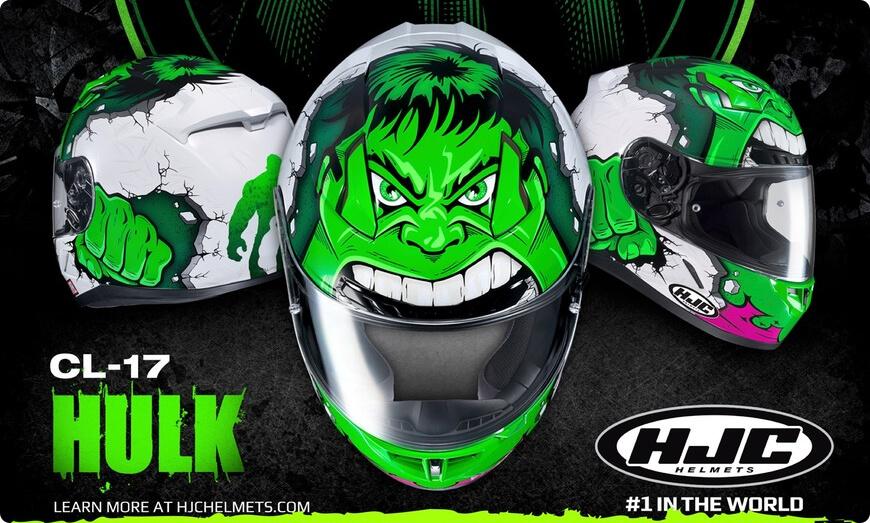 casque hjc marvel hulk