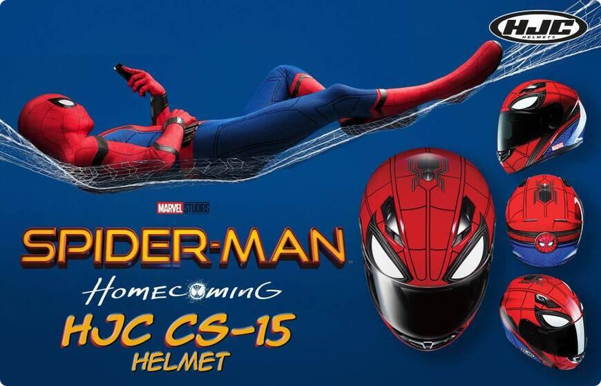 casque hjc marvel spider man
