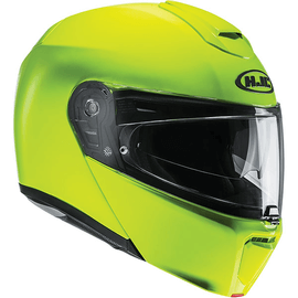 Casque modulable HJC RPHA 90 - Jaune Fluo