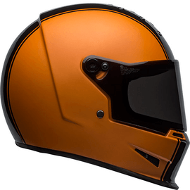 casque bell eliminator rally orange black