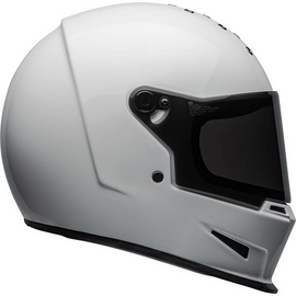 casque bell eliminator solid white - blanc