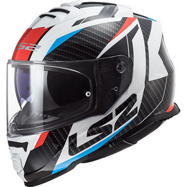 Casque LS2 FF800 Storm Racer Bleu / Rouge