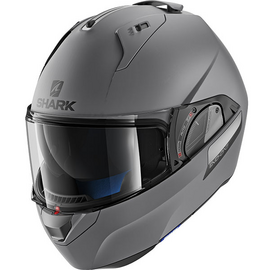 casque shark evo one 2 blank gris anthracite