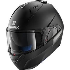 casque shark evo one 2 blank noir mat