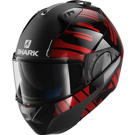 casque shark evo one 2 lithion dual rouge noir