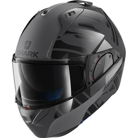 casque shark evo one 2 lithion noir gris anthracite