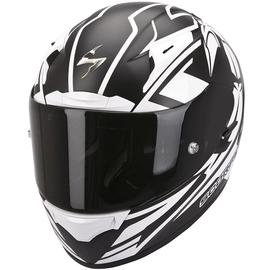 Casque intégral Scorpion Exo-2000 Evo Air Track - Mat Noir / Blanc