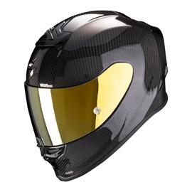 Casque Scorpion Exo R1 Air carbone - Gloss Noir