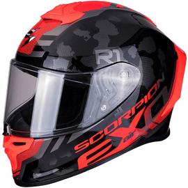 Casque intégral Scorpion Exo R1 Air Ogi - Noir / Red
