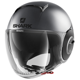 Casque Shark Nano Neon Noir Anthracite