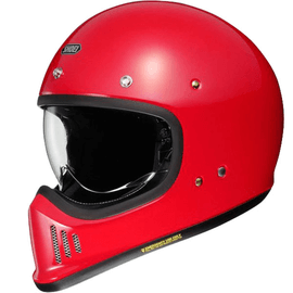 Casque vintage Shoei Ex-Zero - Rouge