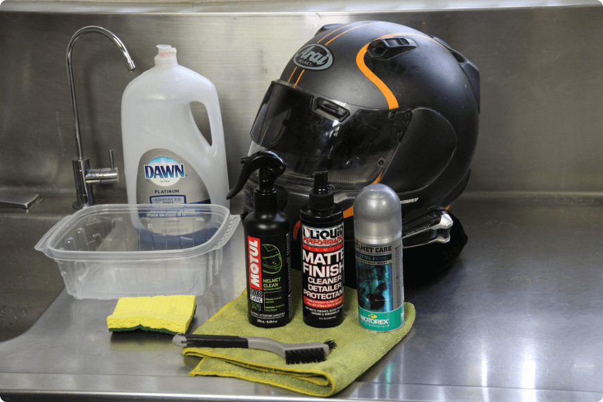 entretien du casque moto pour allonger sa durée de vie