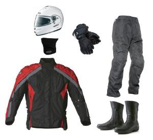 équipement motard pour se protéger du froid à moto