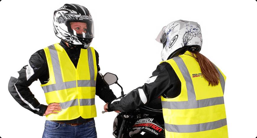 gilets jaunes à bandes réfléchissantes pour améliorer votre sécurité la nuit