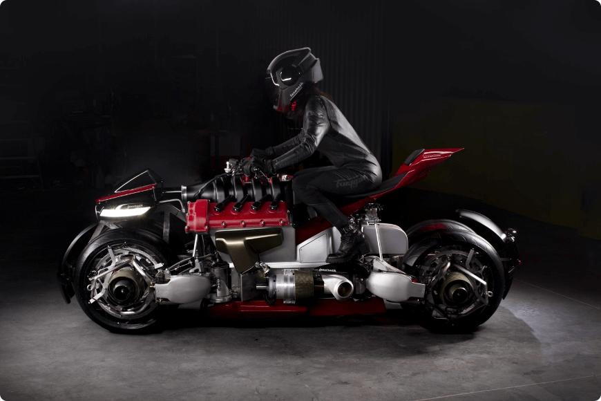 la première moto volante lazareth lmv 496