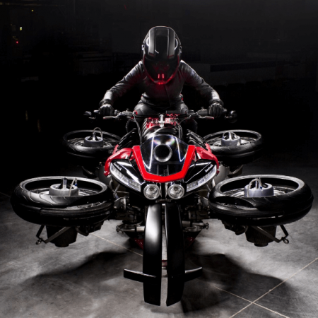 La Lazareth LMV 496 : zoom sur la première moto volante!