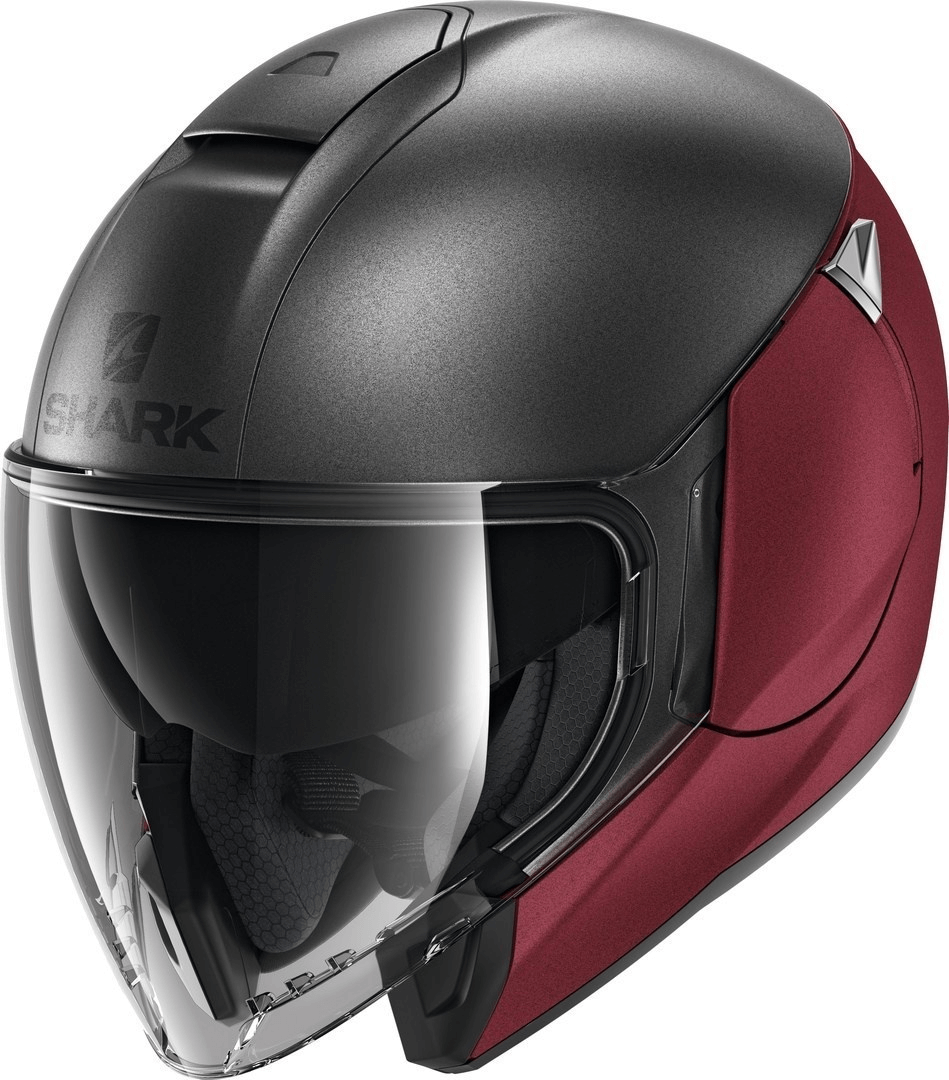 le shark citycruiser, un casque jet protecteur adapté au motard urbain