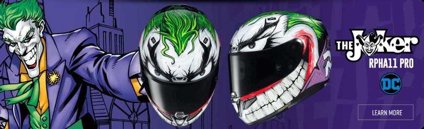 HJC Joker : le nouveau RPHA 11 version Gotham City