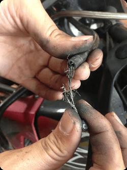 que faire si le câble embrayage se casse ?
